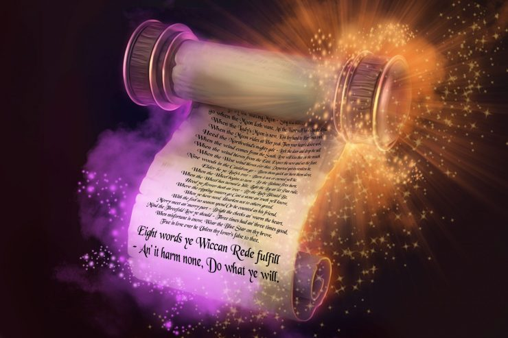 The Wiccan Rede Scroll