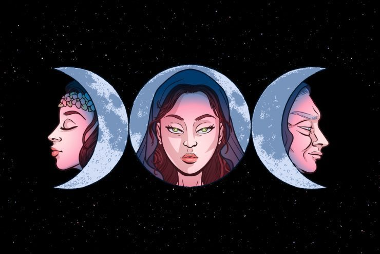 The Wiccan Triple Goddess e1617472008786