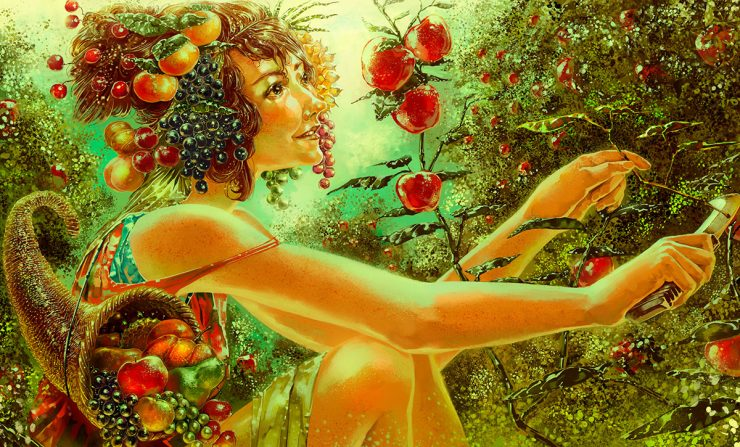 Pomona – Goddess of Fruits And Orchards e1617470651860