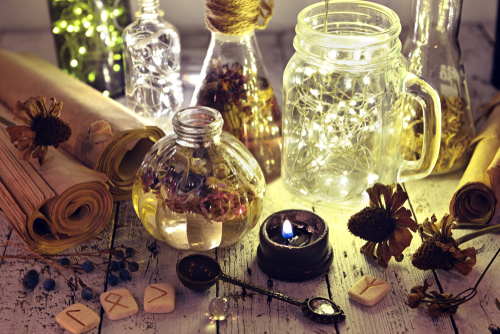 different types of magick