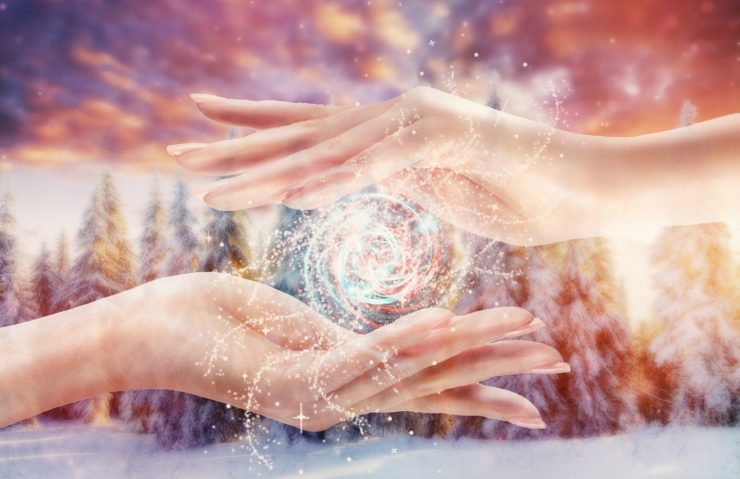 Conjuring Peaceful and Healing Energies